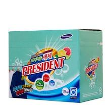 Detergente en polvo prémium Presidente citrus detergente (1100g por caja)