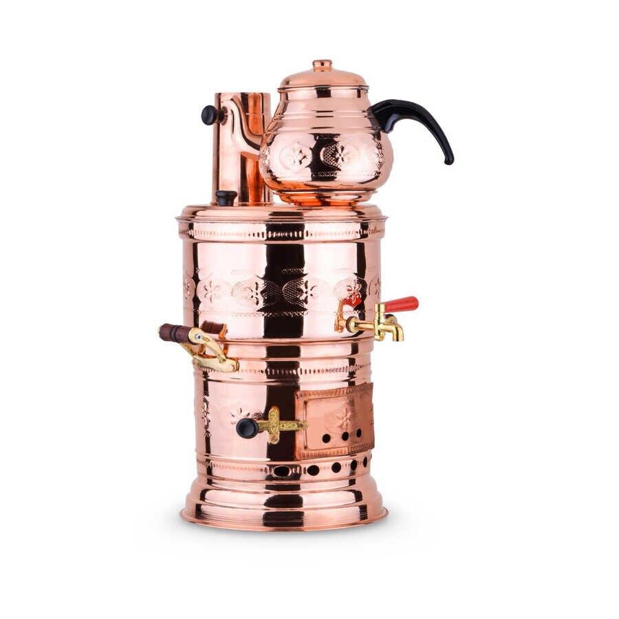 WONDERFULL AMAZİNG ديكور المنزل CopperClassic النحاس الشاي السماور 5 لتر مجانية SHİPPİNG