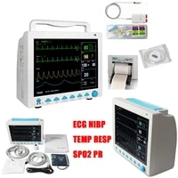 hot contec cms8000 multi parameter patient monitor medical machine spo2 heart rate patient monitor with ibp and printer