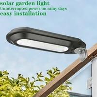 2021 solar led waterproof light outdoors wall lamps wide angle ip65 for garden patio path yard street lights corridor fixture
