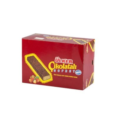 Ülker Chocolate Wafer 36 x 36 G Ülker Chocolate Wafers 36 pieces  FREE SHİPPİNG