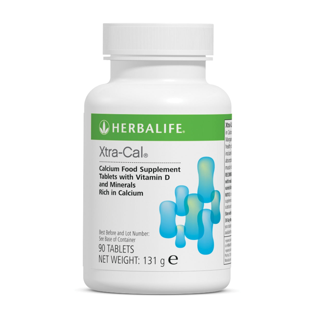 Herbalife Nutrition Xtra-Cal Calcium Food Supplement 90 Tablets Vitamin D Minerals Magnesium Zinc Copper Manganese Healthy Life