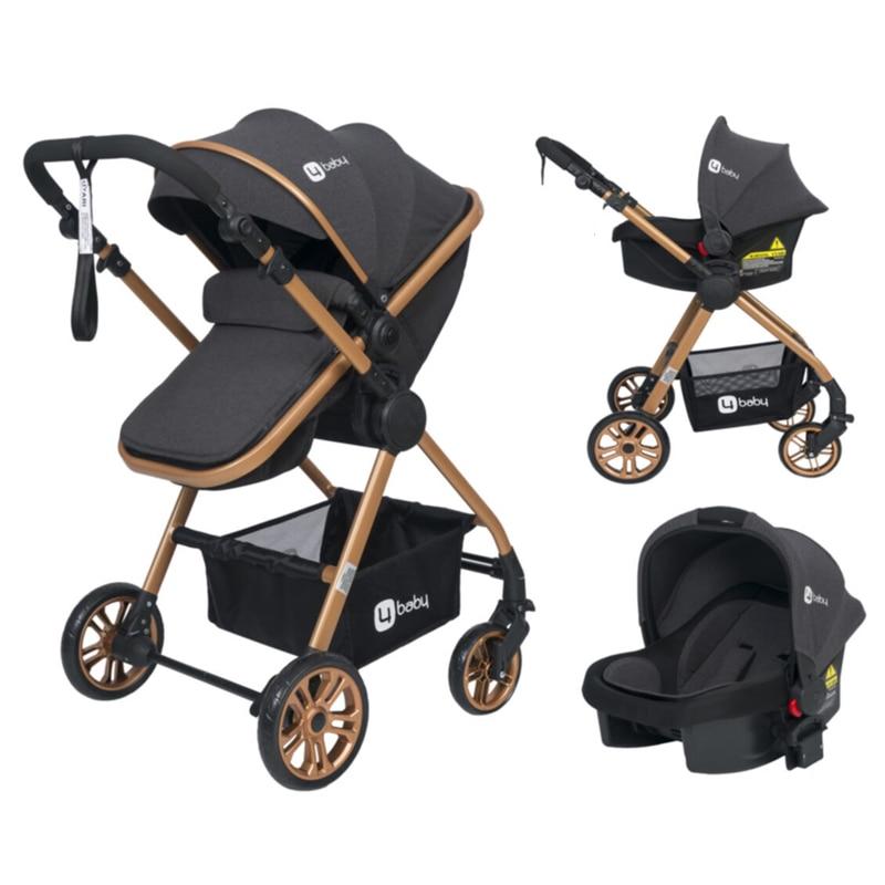 Active Travel Baby Stroller Multifunctional Child Stroller