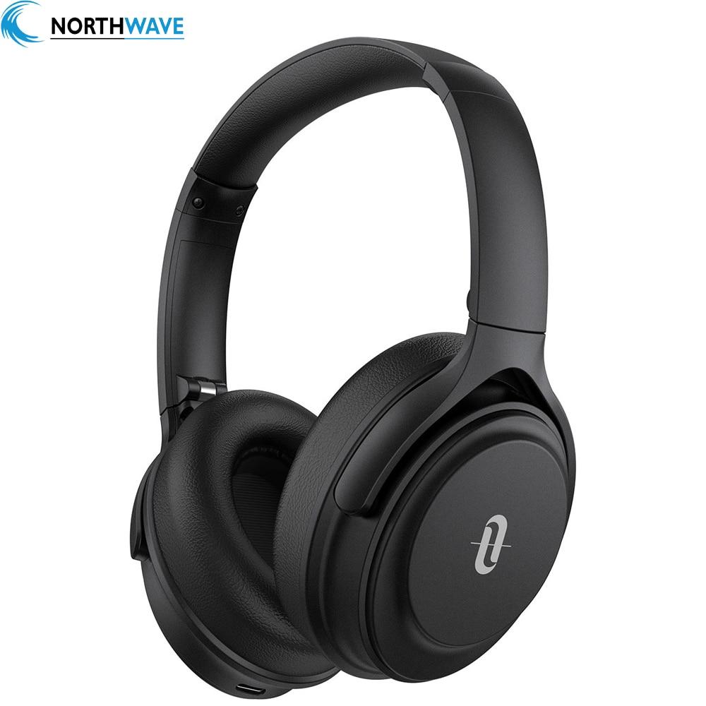 Cancelamento de Ruído Fone de Ouvido Taotronics Soundsurge Ativo Bluetooth 5.0 Cvc 8.0 40 Horas Música Dispositivo Duplo Suporte 85 Anc
