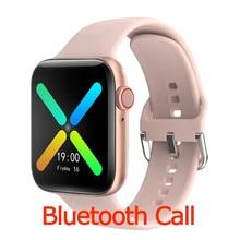 Erilles New 2021 Bluetooth Call Smart Watch Women Fitness Tracker Heart Rate Full Touch SmartWacth M
