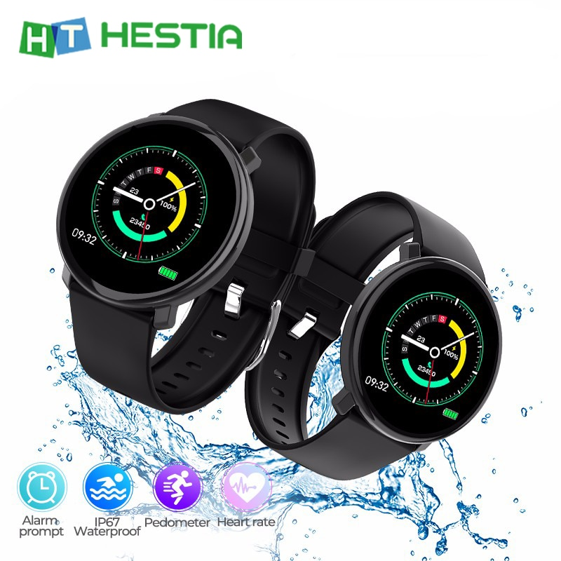 "Pulsera inteligente M31 1,3 ""pulseras de pantalla a Color reloj deportivo táctil de pantalla completa Monitor de ritmo cardíaco banda inteligente rastreador de Fitness"