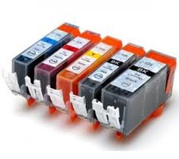 Cartucho de tinta compatible CLI526C cian para Canon IP 4850, 5150 MG, 5250 MG, 4541 B001