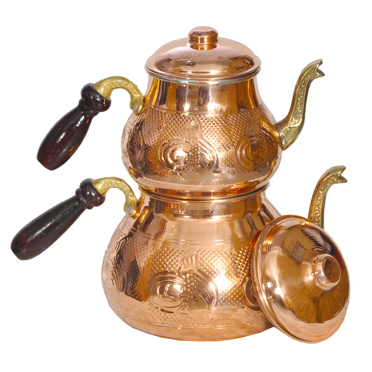 Thick material Turkish teapot Home Camping Picnic for  stannous teapot.турецкий Медный чайный сервиз Толстый материал
