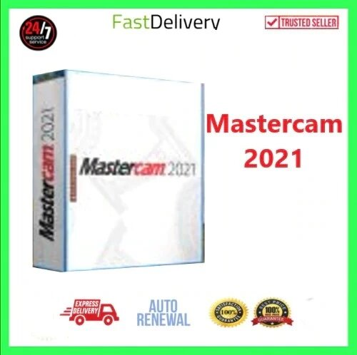Mastercam 2021| Dernière✅Durée de vie✅-Multi-langue |⚡Expédition rapide⚡