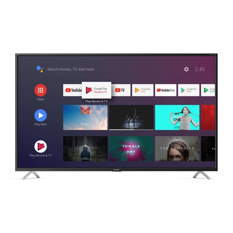 "Sharp 40bl5ea tv 101.6 cm (40 "") 4k ultra hd preto inteligente"