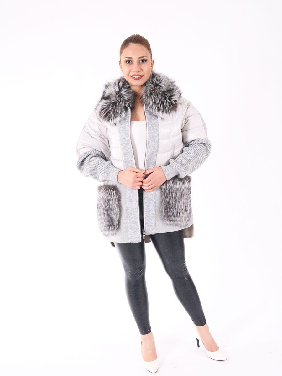 100% genuine fox arm and mobile accessory, natural alpaca coat fox, special models, turkey production