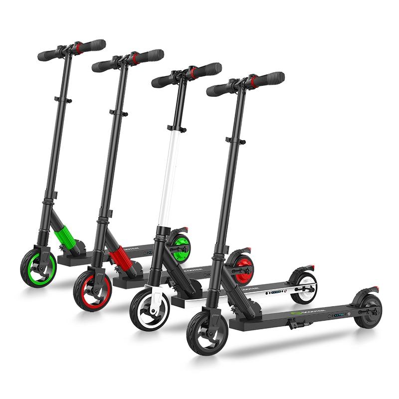 IScooter, aeropatín eléctrico inteligente para adultos, patinete eléctrico plegable de 6 pulgadas, patinete inteligente con asistencia eléctrica