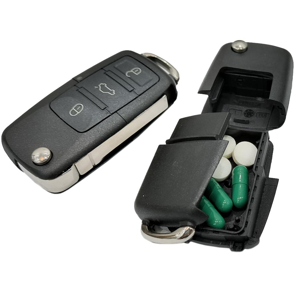 Key Diversion Safe Hidden Secret Compartment Stash Box Discreet Decoy Car Key Fob to Hide and Store Money