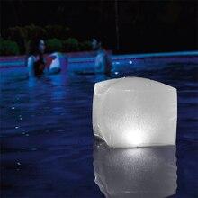 수영장 Intex 용 풍선 LED 큐브