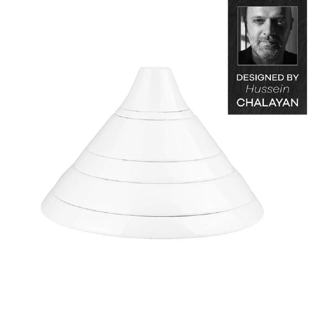 Karaca Hussein Chalayan Digital 6 Piece Single Fine Pearl Dinnerware Set enlarge