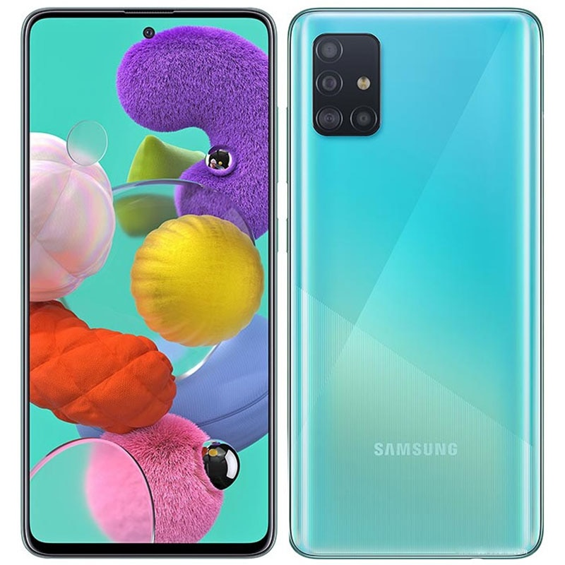 Перейти на Алиэкспресс и купить Смартфон Samsung Galaxy A51 A515F, 6,5 дюйма, 4 + 128 ГБ, 48 МП, GPS, Android