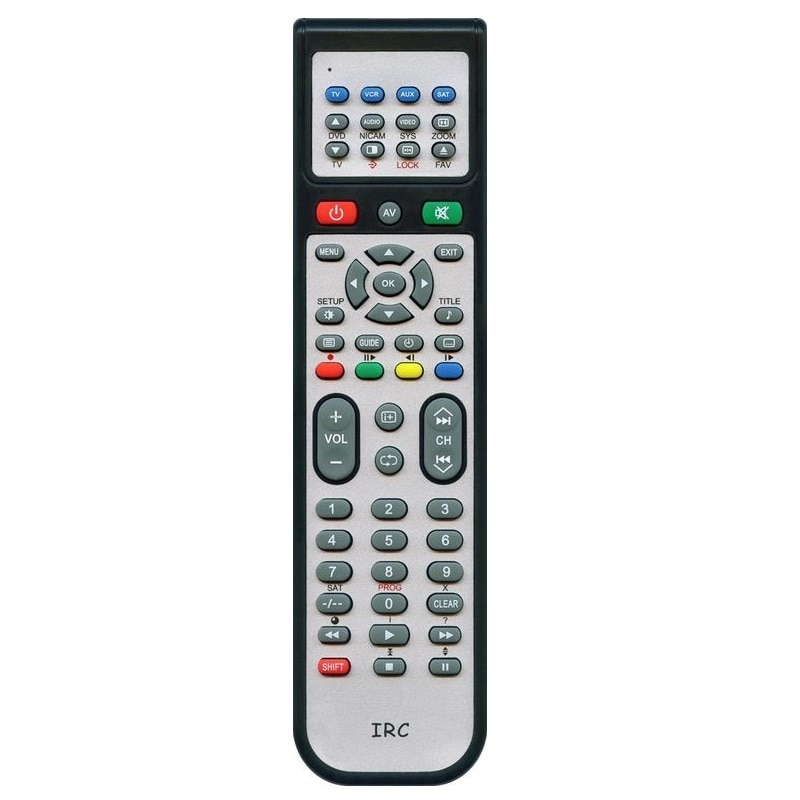 Control remoto universal IRC se sentó f se sentó DVB (STB... rc1994940... db-2206... bw0981... rc-110... rc50d sentado-01 VIP-1103 sat-01 rc-smp712