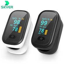 Portable Finger Oximeter Mini SpO2 PR Oxymeter OLED Fingertip Pulse Oximeters Blood Oxygen Saturation Meter Heart Rate Monitor