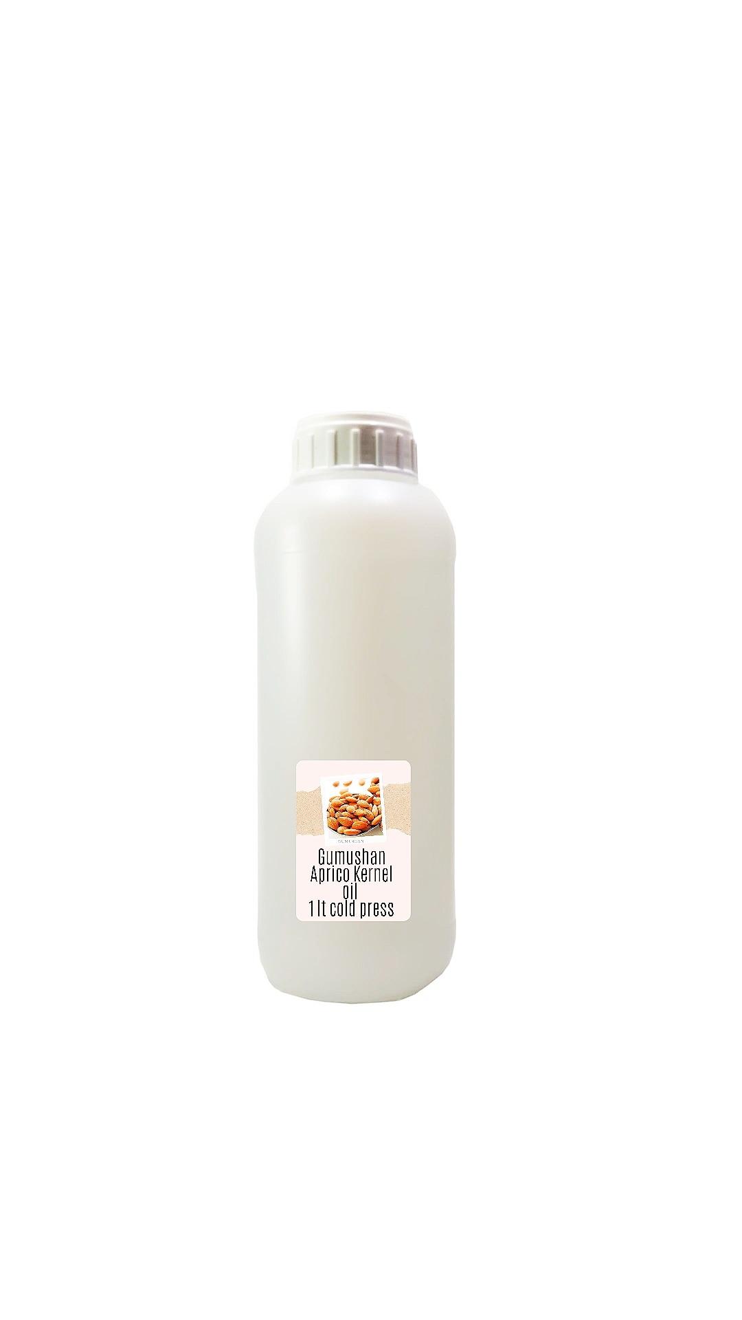High quality pure Apricot Kernel Oil 1 liter 34 fl oz 1000ml
