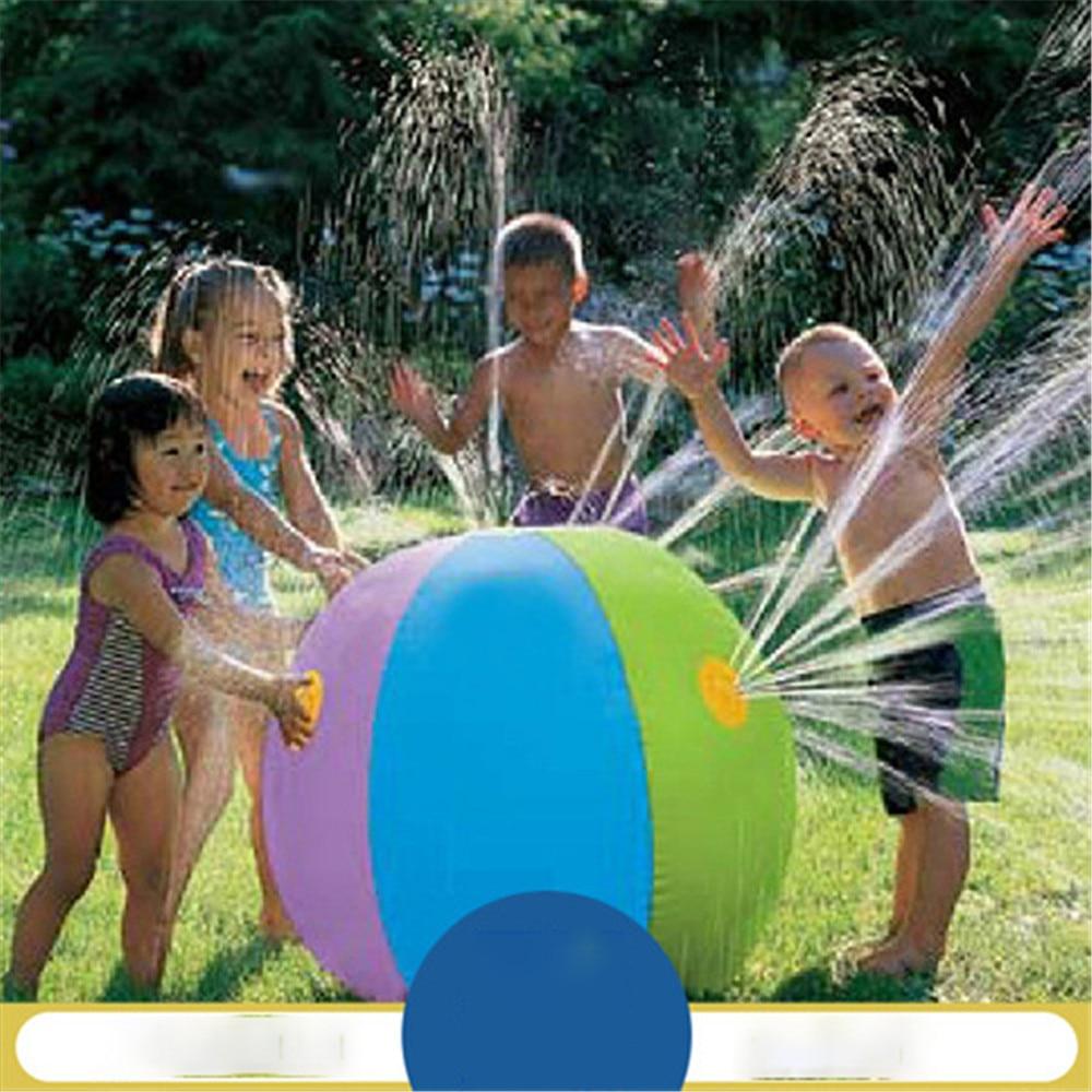 Надувное водное поло, водное поло-амфибия, водный Бойцовский пляжный мяч, трава, надувной шар, летние пляжные подарки для детей Y471