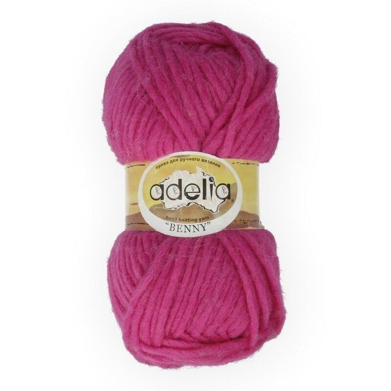 "Hilados de Adelia ""bené"" lana de 100% 100g 96 m ± 5 m No. 782 años Rosa"