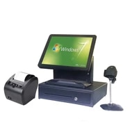 whole set machine hot selling pos system for retailers all in one touch screen point of sales pos machine full set