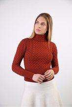 Pullover Rollkragen Kragen Frauen Winter Merino Pullover 3380