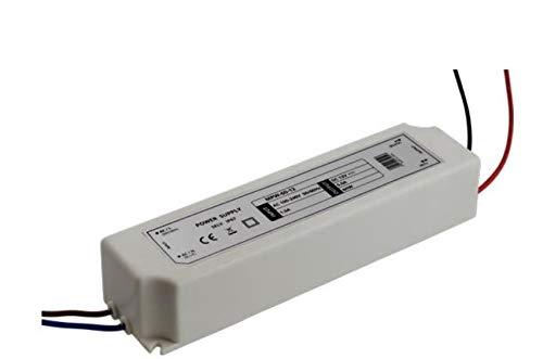 Alimentation Masvolt 12V 60W IP67 transformateur à tension constante pour ampoules LED et autres applications, SOURCE 12V.