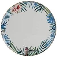 porland exotic pattern flat plate 27 cmdiameter 27 10 cm height 1 00 cm width 27 10 cm length 27 10 cm material porcelain