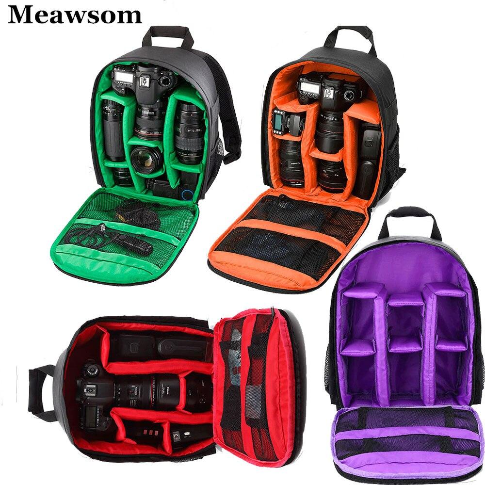 Camera Bag Backpack Digital Dslr Bag Waterproof Shockproof Breathable For Cameras Small Video Photo Camera Bag Camcoder Backpack