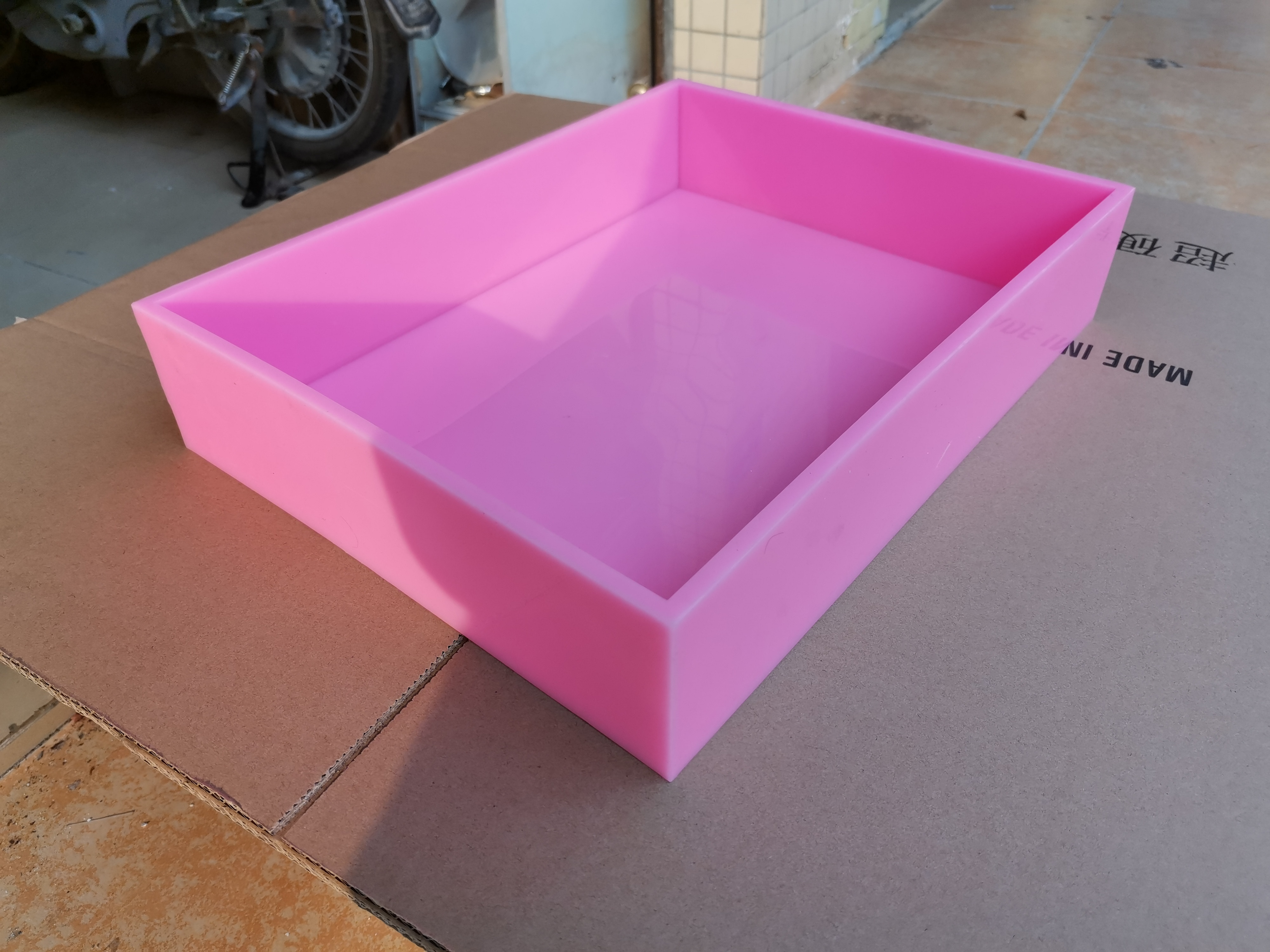 Lista de silicona forro personalizado de silicona moldes para jabón de silicona de en Stock para Natural CP jabón