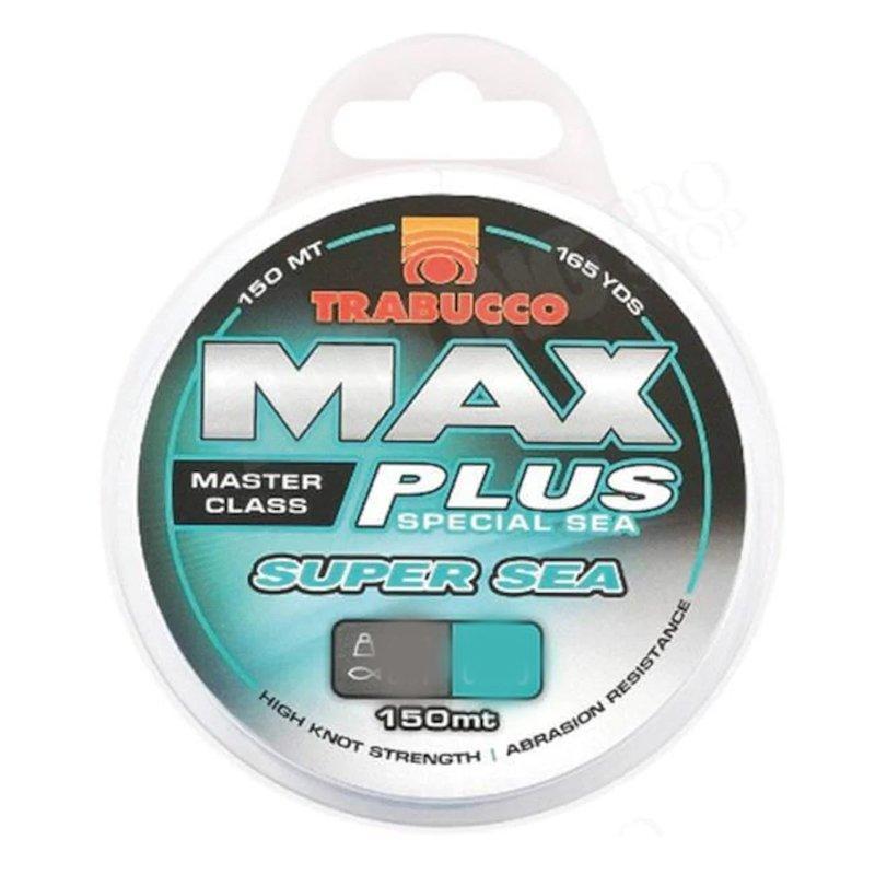 Trabucco Max Plus Super Sea 150 Meters 0.30mm Monofilament Fishing Line