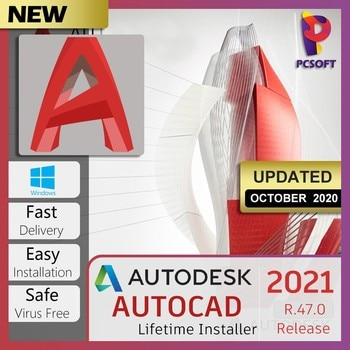 Suite de conception Auto_CAD Pro 2021_version complète _ warranty_ONE-TIME-PAYMENT_for à vie windows