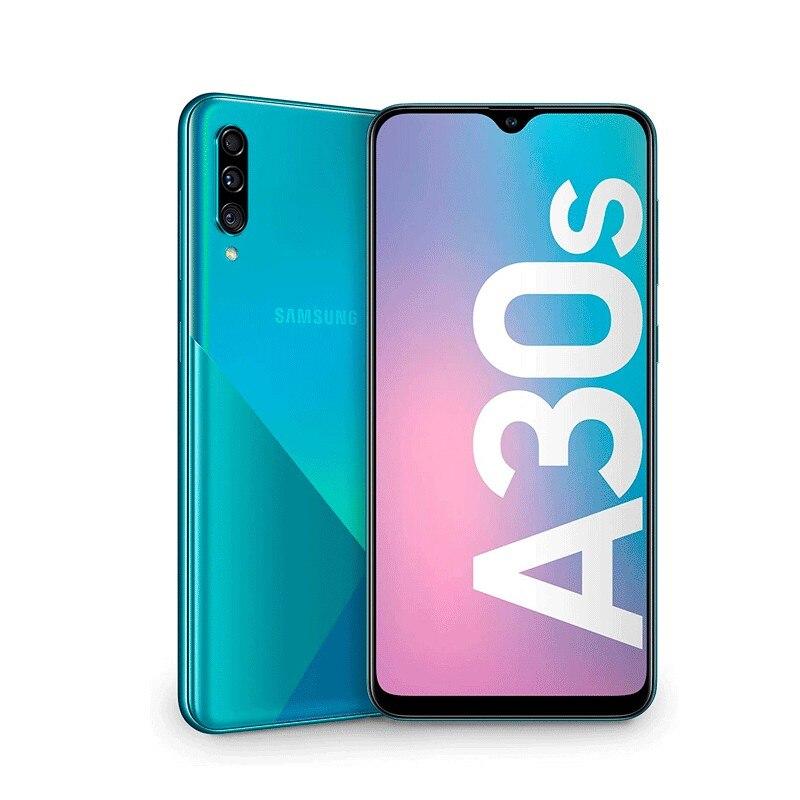 "Samsung Galaxy A30s - Super AMOLED 6.4"" HD+ - 4GB + 64GB (+microSD 512GB) - 25+8+5MP - Lector de huellas en pantalla"