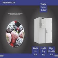 Tunel Group - Modular Cold Room ( -18°C) 350m³ - Non-Shelves