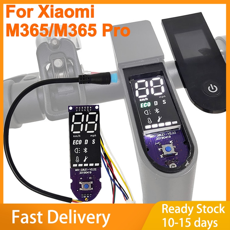 M365 Pro Dashboard Scooters Part Autocollants Scooters for Xiaomi M365 Scooter Circuit Board W/screen Cover for M365 Pro scooter marvel spider man t58410 kick scooters foot scooters kick scooters foot scooters aprilpromo