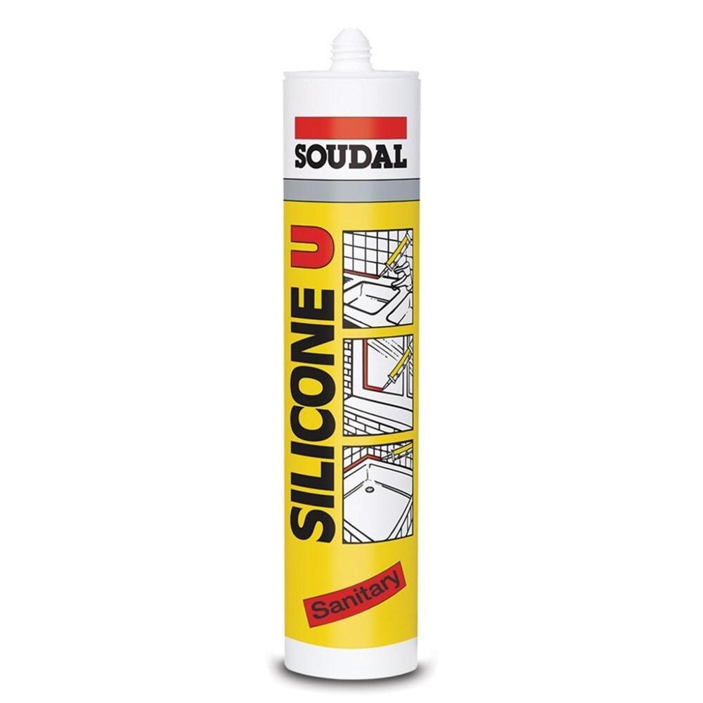 Soudal de silicona U silicona para Uso General 280 gr