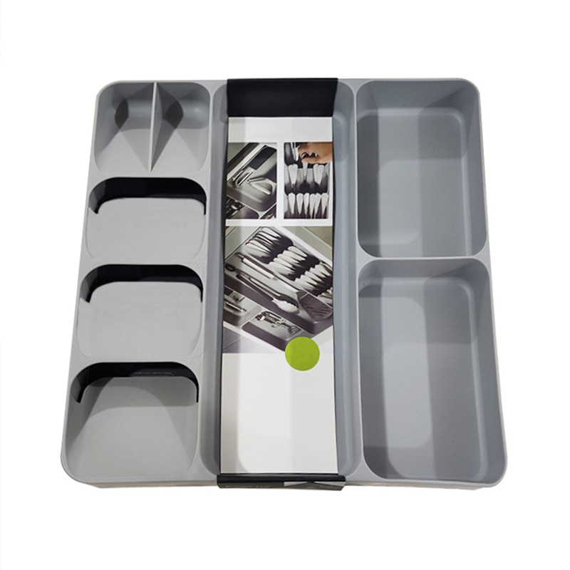 صندوق تخزين أدوات المائدة للمطبخ ، منظم درج لتخزين أدوات المائدة ، للملعقة ، السكين ، الشوكة ، أدوات المائدة ، أدوات المائدة ، المنزل