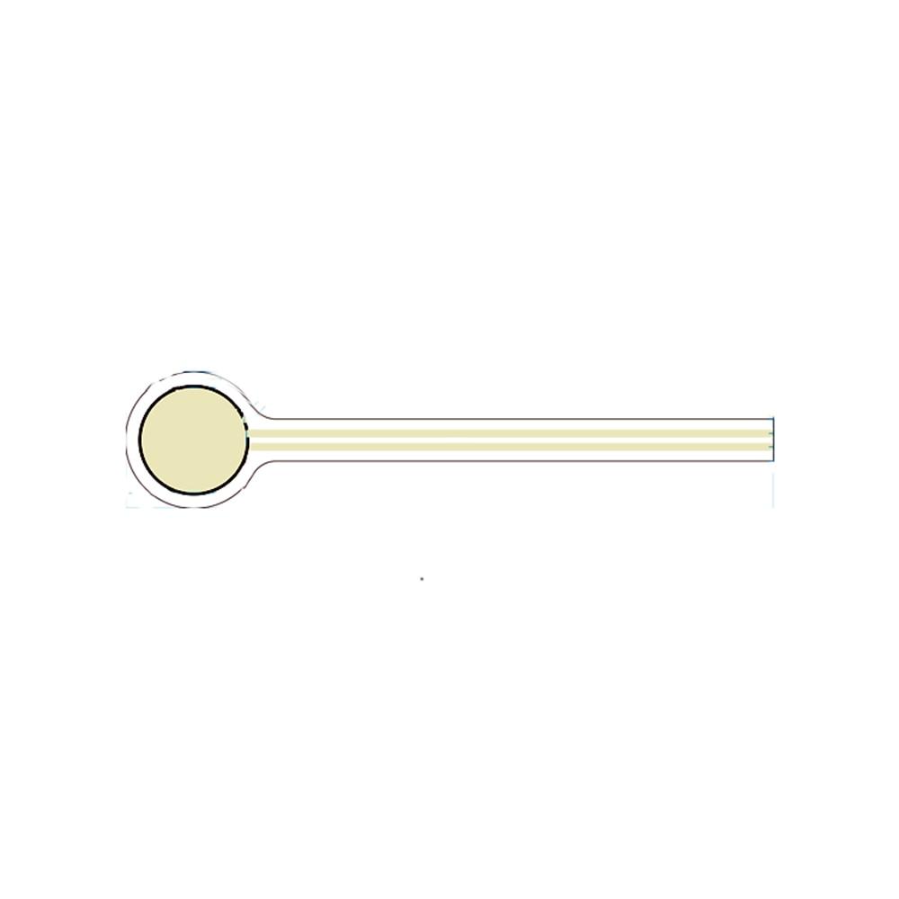 Taidacent Flexible Film Resistive Analog Pressure Transducer Dynamic Force Sensor FSRFlexiforce Electronic Force Sensor Pressure taidacent flexible thin film piezo resistive pressure sensor c7 5a micro force tactile transducer high accuracy pressure sensor