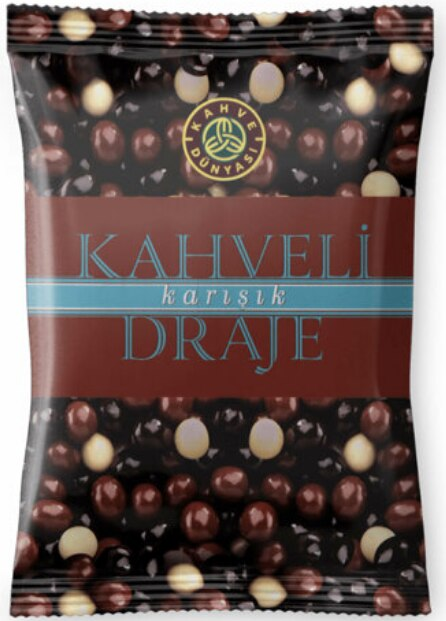 Coffee dragee, milk bitter chocolate 200 g x (2 packs 400G) great taste obtained by coating coffee beans chocolate FREE SHİPPİNG