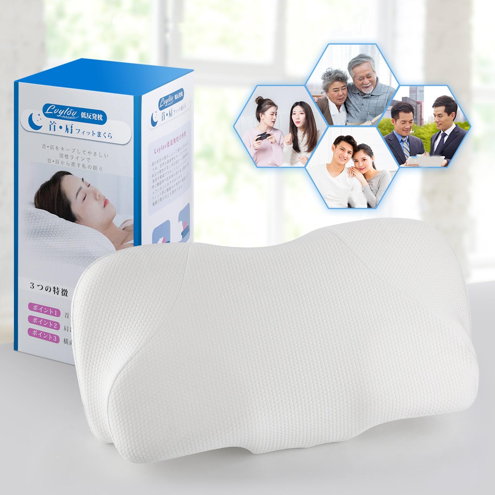 13 سنتيمتر Contour رغوة الذاكرة وسادة عنق الرحم العظام آلام الرقبة وسادة ل الجانب الخلفي المعدة النائم الوسائد العلاجية