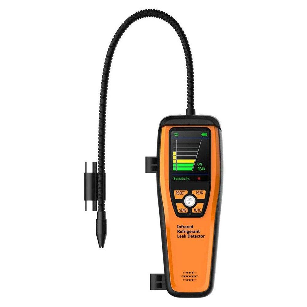 Detector de fugas de refrigerante infrarrojo Elitech ILD-200