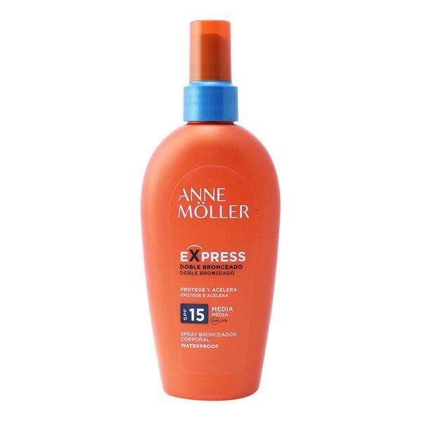 Spray Bronceador Express Anne Möller Spf 15 (200 ml)