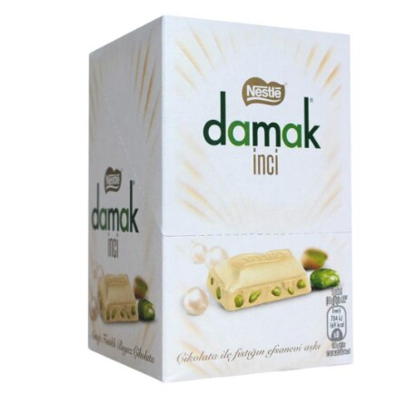 Nestle Damak pearl pistachio white chocolate (12 packs) FREE SHİPPİNG