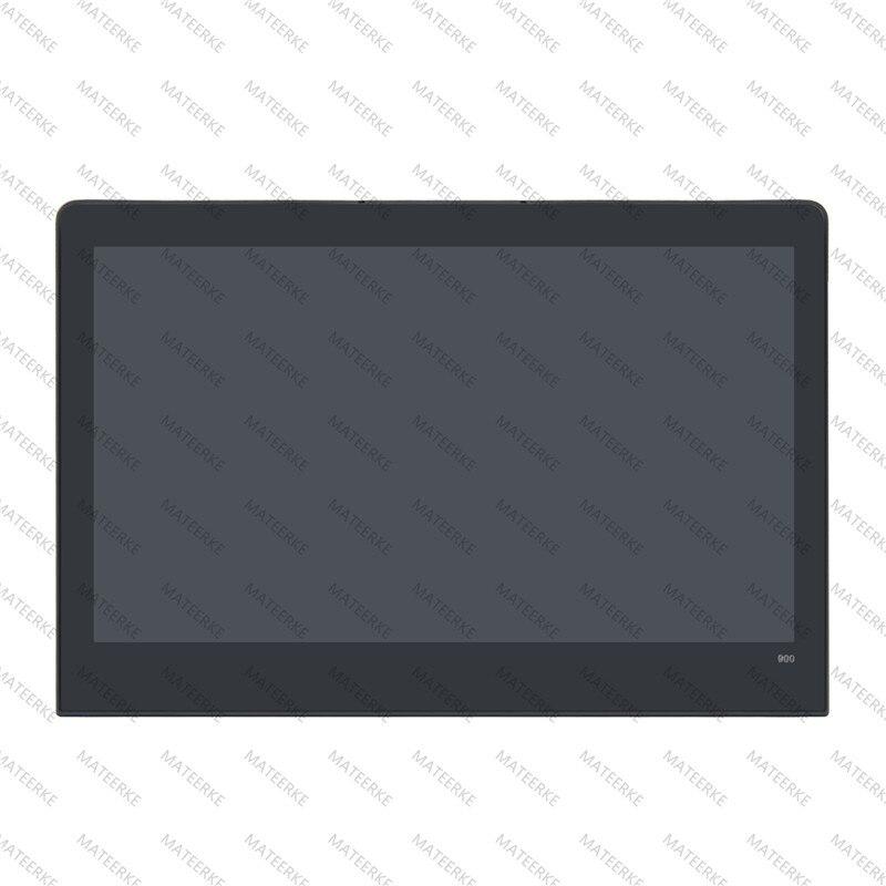 "13.3"" QHD LCD IPS Touch Screen Assembly + Bezel For Lenovo Yoga 900-13ISK2 80UE002UUS"
