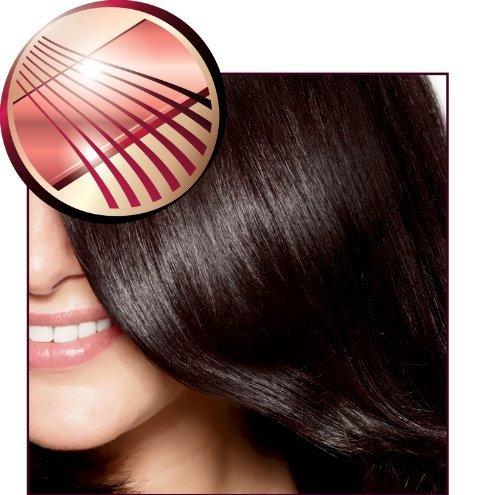 Philips Hp8321 Essential Care 1-Inch Ceramic Hair Straightener, Black enlarge