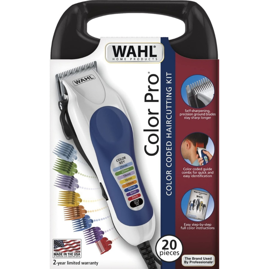 Wahl 79300-1616 Color Pro/Sheet Shearing Machine Hair Clipper Trimmer with Case Of Storage System Of Auto-Afilado enlarge
