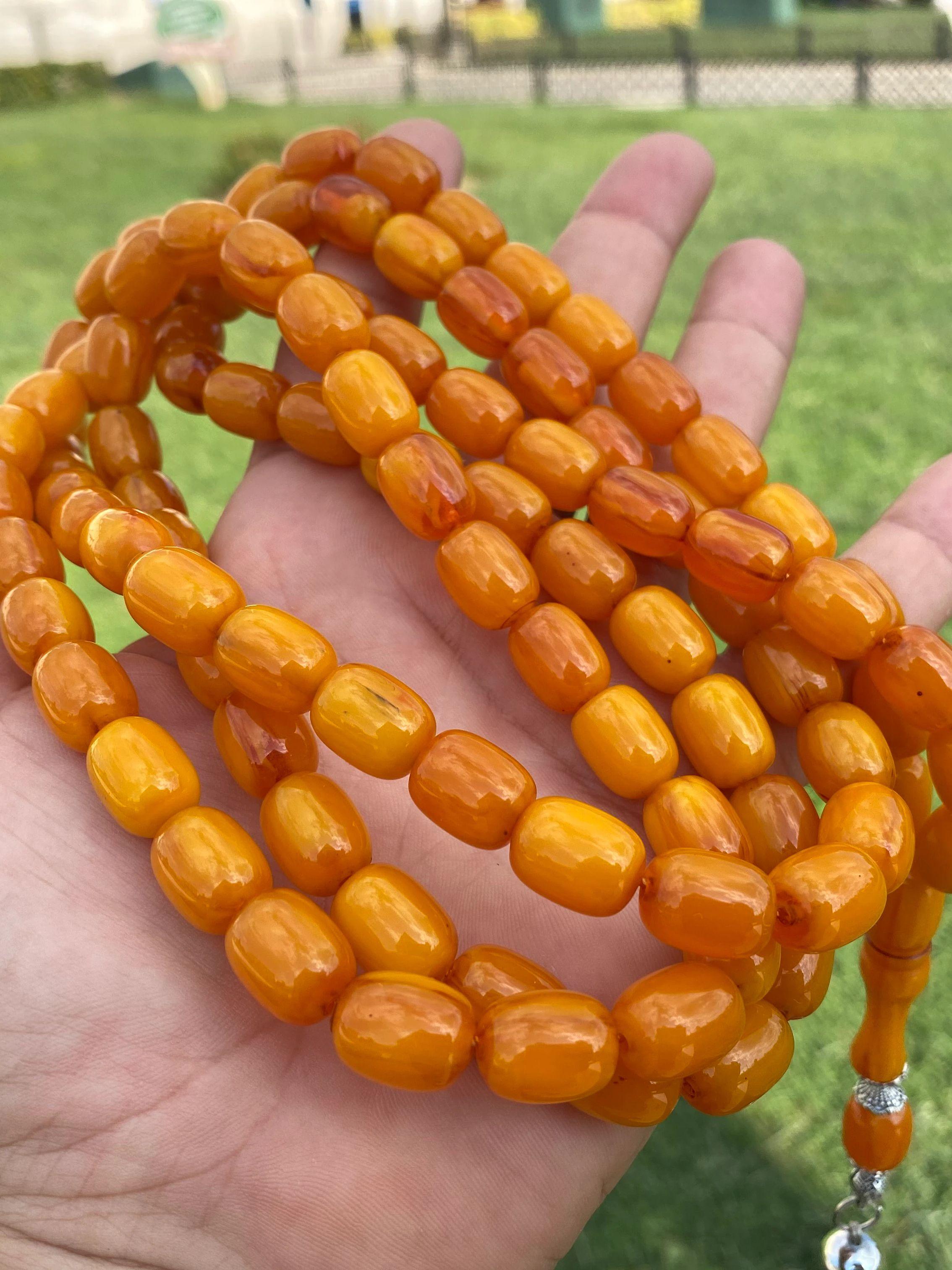 99 İslam Ottoman Kahraman Faturan German Cherry Amber Sandalous Misbaha Rosary Free Shipping Tasbih Tesbih İslamic Arabic Gift