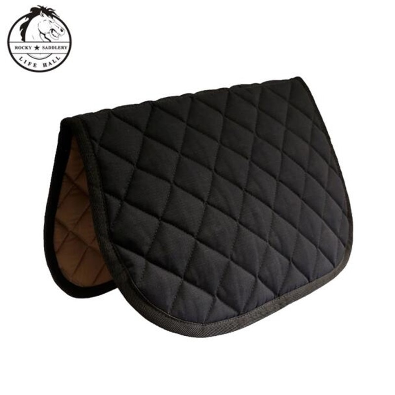 Cavassion Equestrian Horse Riding Saddle Pad for Pony Horse When Kids Riding Child Knight Saddle Equipment