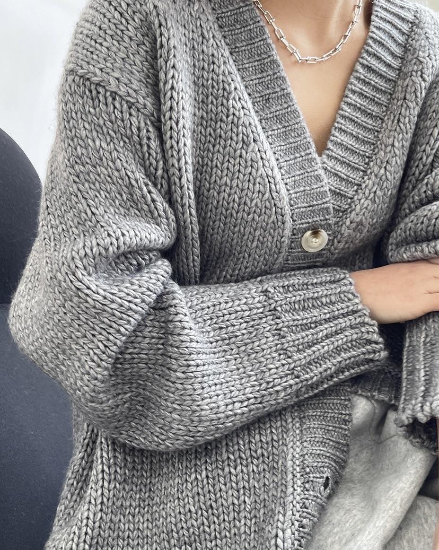 new woman warm wool cashmere cardigan enlarge